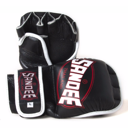 Sandee MMA Sparring Gloves - Black/Red